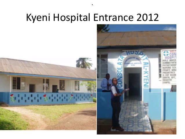 GNU Health project at Kyeni Consolata Hospital - Kenya