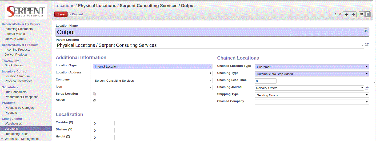 Multi-Company Configuration in OpenERP v7